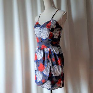 *2/$14* All About Eve Floral Mini Dress Size 10